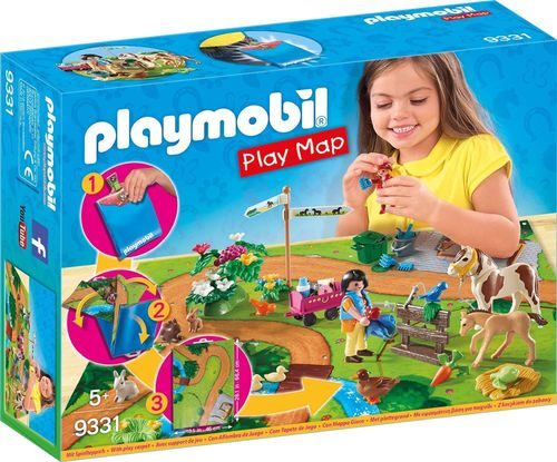 Playmobil 9331 - Play Map - Paseo con Ponis