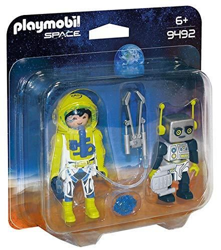 Playmobil 9492 - Duo Pack Astronauta y Robot