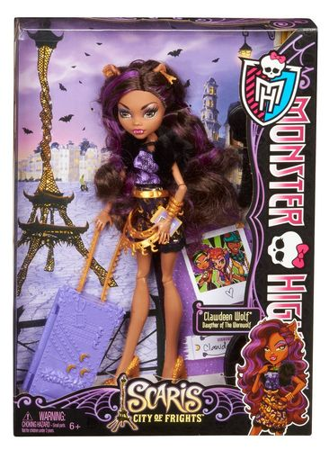 Monster High - Clawdeen Wolf: Scaris
