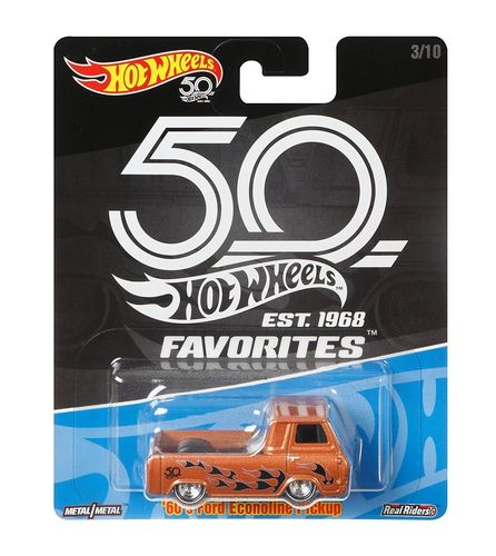 Hot Wheels: 50th Anniversary - '60's Ford Econoline Pickup