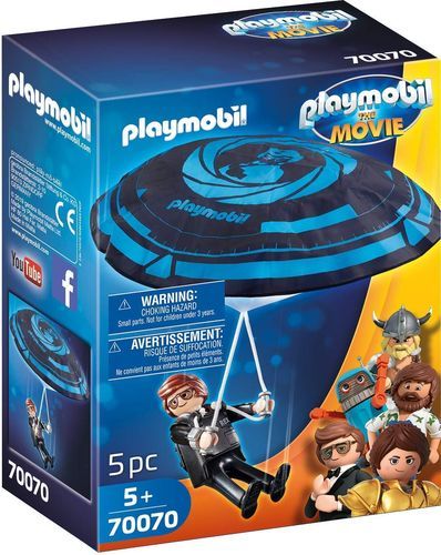 Playmobil 70070 - Rex Dasher con Paracaídas