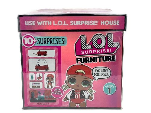 LOL Surprise - Furniture Pack: M.C. Swag y Cozy Coupe