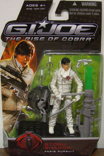 Gijoe - Storm Shadow: Paris Pursuit