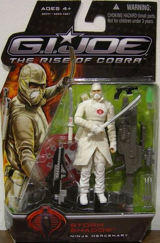 Gijoe - Storm Shadow: Ninja Mercenary