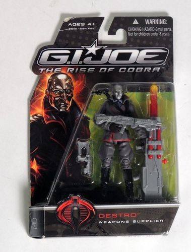 Gijoe - Destro: Weapons Supplier