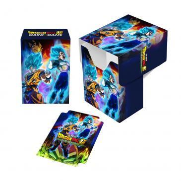 Dragon Ball Super - Deck Box: Vegeta y Goku Vs Broly