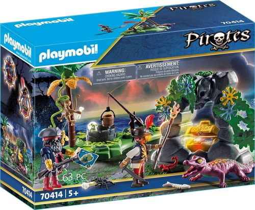 Playmobil 70414 - Pirates - Escondite Pirata