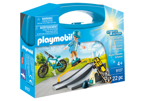 Playmobil 9107 - Sports & Action - Maletín Deportes Extremos