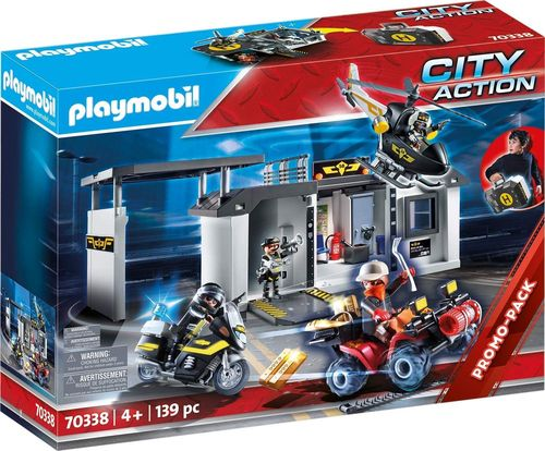 Playmobil 70338 - City Action - Comisaría Fuerzas Especiales