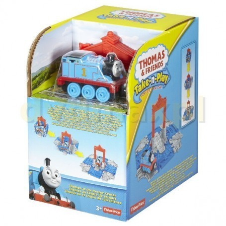 Thomas & Friends - Take-n-Play - Thomas en el centro de rescate
