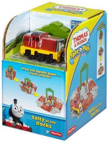 Thomas & Friends - Take-n-Play - Salty at The Docks