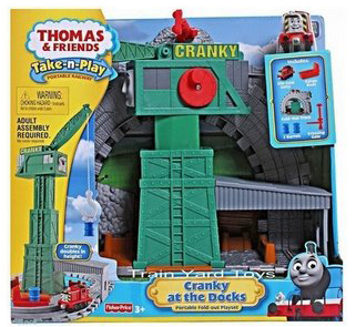 Thomas & Friends - Take-n-Play - Cranky at the Docks