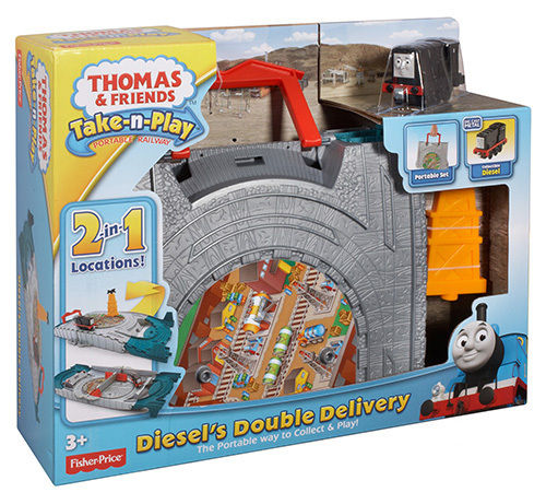 Thomas & Friends - Take-n-Play - Diessel's Double Delivery