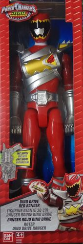 Power Rangers - Dino Super Charge - Ranger Rojo Dino Drive