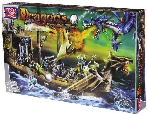 Mega Bloks - Dragons Krystal Wars: Man-o-war
