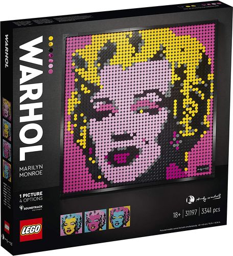 Lego Art 31197 - Marylin Monroe by Andy Warhol